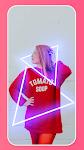 screenshot of Spiral Photo Editor: Neon, Glitch Effect, Pic Blur