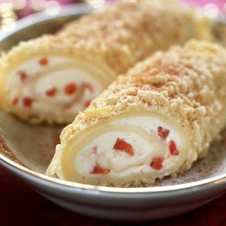 Cheese Roulade with Peppers
