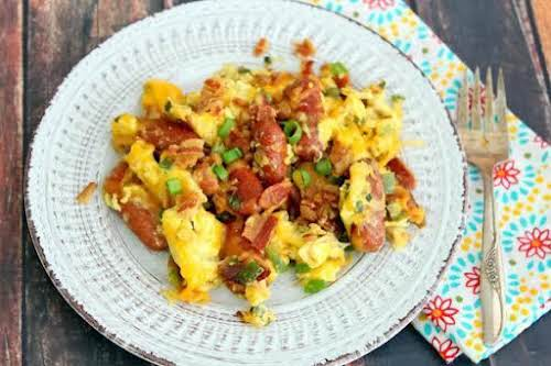 """Okie Dokie Smoky""""We had this for breakfast yesterday morning. Yes, it's very..."""