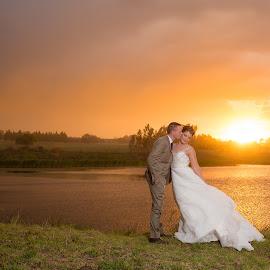 by Lindie Furstenberg - Wedding Bride & Groom (  )