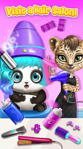 Panda Lu Baby Bear City - Pet Babysitting & Care 3.0.4 screenshots 4
