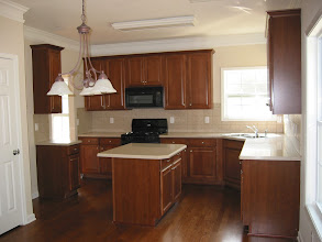 Photo: Kitchen before moving in (2007)