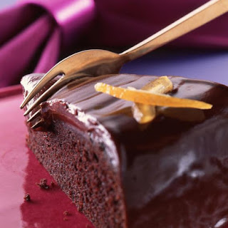 Chocolate Orange Fudge Cake