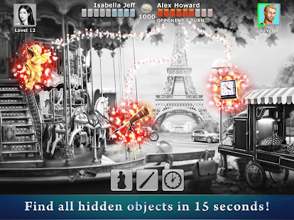Hidden Objects: Competition with Friends- screenshot thumbnail