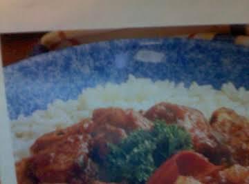 """10 MIN. Sweet """"n"""" Spicy Chicken"""