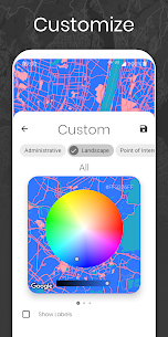 Cartogram – Live Map Wallpapers & Backgrounds (MOD, Paid) v4.5.4 4