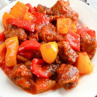 Pineapple Pork Tenderloin In Tomato Ginger Sauce