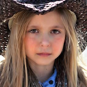 cowgirl by Mark Warick - Babies & Children Child Portraits
