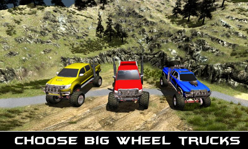 4x4 Offroad Jeep Driving 3D- screenshot