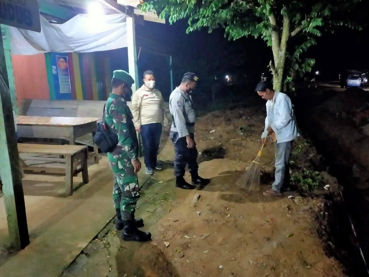 Antisipasi Pelanggaran Prokes, Tiga Pilar Aruta Laksanakan Operasi Yustisi