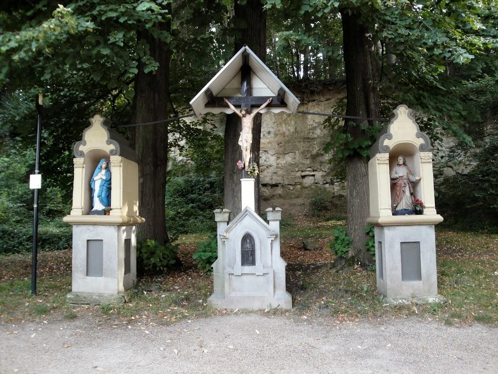 De Drie Beeldjes langs de Geul tussen Valkenburg en Schin op Geul