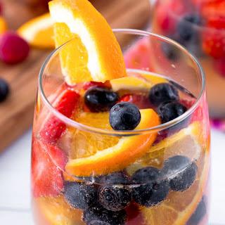 Sparkling Fruit Sangria Recipe