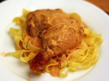 Hungarian Paprikash Chicken Recipe