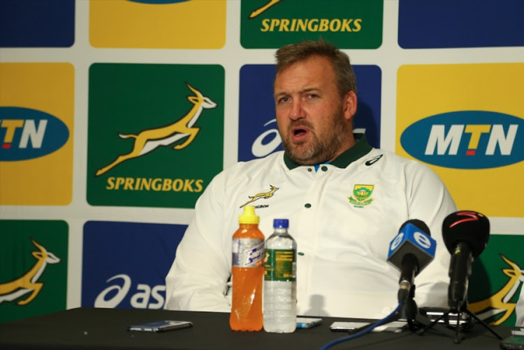 Forwards coach Matthew Proudfoot is back in the Springboks coaching set up.