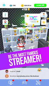 Idle Streamer Mod Apk 1.30 (Unlimited Money) 1