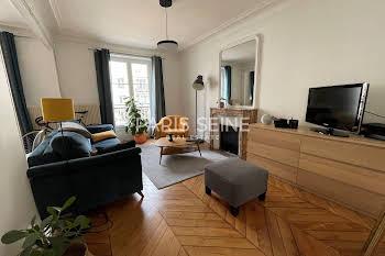 Appartement meublé 3 pièces 55,87 m2