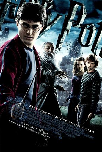 Przód ulotki filmu 'Harry Potter i Książę Półkrwi'