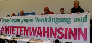 «Gemeinsam gegen Verdrängung und #Mietenwahnsinn» - Die Forderung der bundesweiten Demonstrationen vom 6. April 2019.