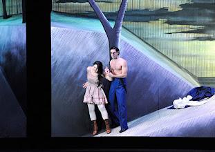 Photo: Salzburger Osterfestspiele 2015: I PAGLIACCI. Premiere 28.3.2015, Inszenierung: Philipp Stölzl. Maria Agresta, Silvio (?). Copyright: Barbara Zeininger