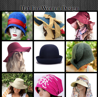 Hat For Women Designs - náhled
