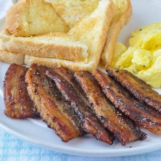 Homemade Bacon Recipe - low sodium & no preservatives.