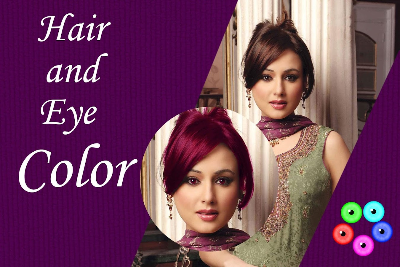hair and eye color changer android apps on google play