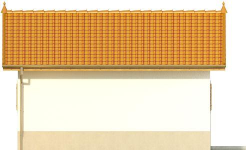 Domek 6 - Elewacja lewa