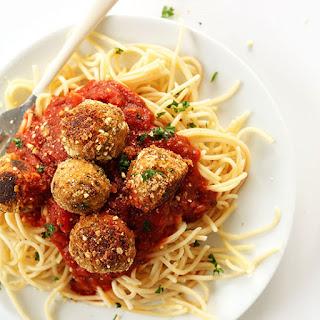 Simple Vegan Meatballs.