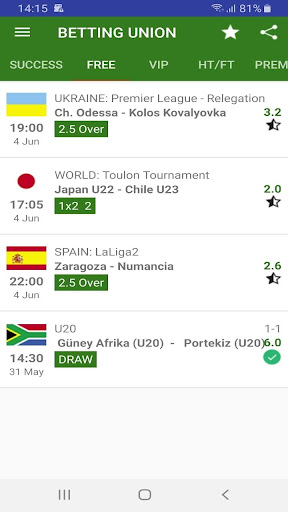 Betting Forecasts  for Win & Win Money for Free 1.1 screenshots 4