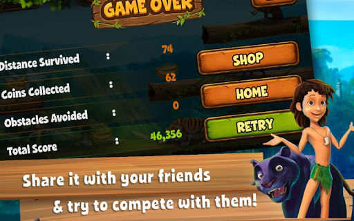 Jungle Book Runner: Mowgli and Friends 1.0.0.8 screenshots 12