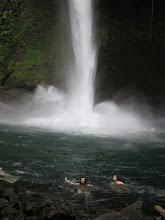 Photo: Vanessa getting her adrenaline rush