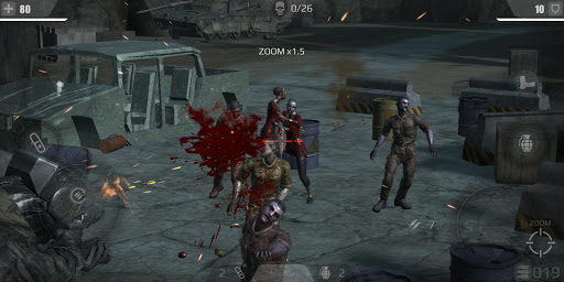 tir zombie roi : jeux de tir gratuit fps  captures d'écran 1