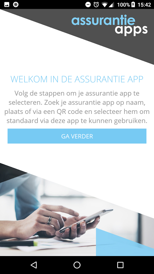 Assurantie App- screenshot