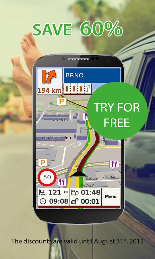 GPS Navigation & Map by Aponia- screenshot