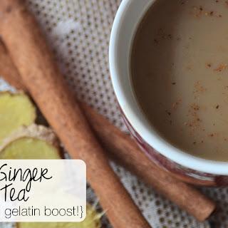 Vanilla Ginger Chai Tea (with a nourishing gelatin boost!).