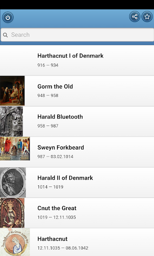 Kings of Denmark