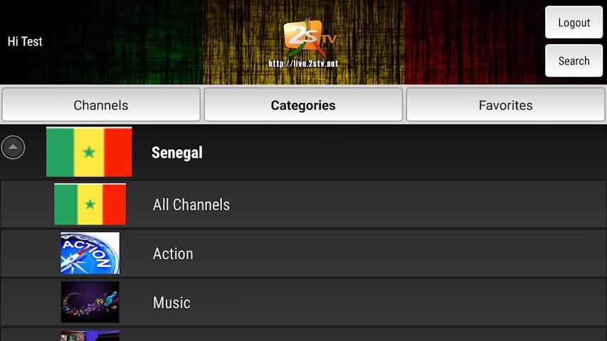 android 2STV Live Screenshot 2