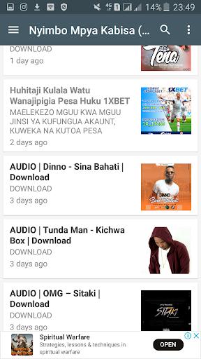 Nyimbo Mpya Tanzania - Ngoma zote za Bongo Flava. 1.2.1 screenshots 1