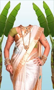 Wedding Saree Photo Suit screenshot 2
