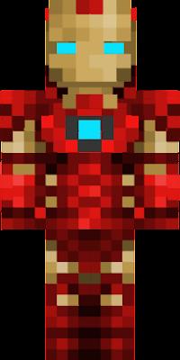 Minecraft Iron-Man Skin