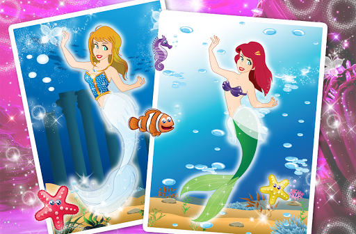 Mermaid Princess Beauty Salon