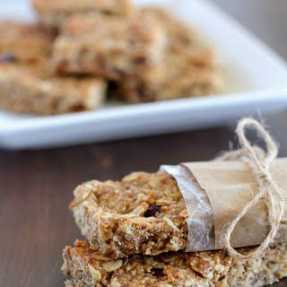 Homemade Healthy Granola Bars.