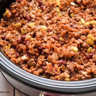 Crock-Pot Campfire Beans.