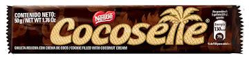 Galletas COCOSETTE Crema   de Coco Paquete x50g