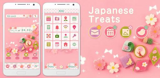 Cute Theme-Japanese Treats- - Apps on Google Play