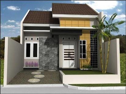 Minimalistický dům design - náhled