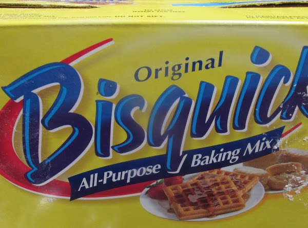 In a separate medium bowl, add Bisquick, with sugar, cinnamon, nutmeg , butter &...