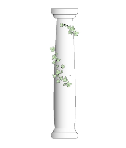 colonne jardins dantares