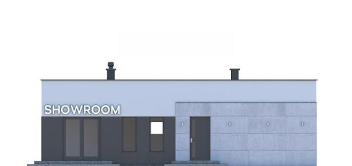 G248 - Budynek rekreacji indywidualnej - Elewacja przednia