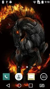 Mad horse live wallpaper screenshot 1